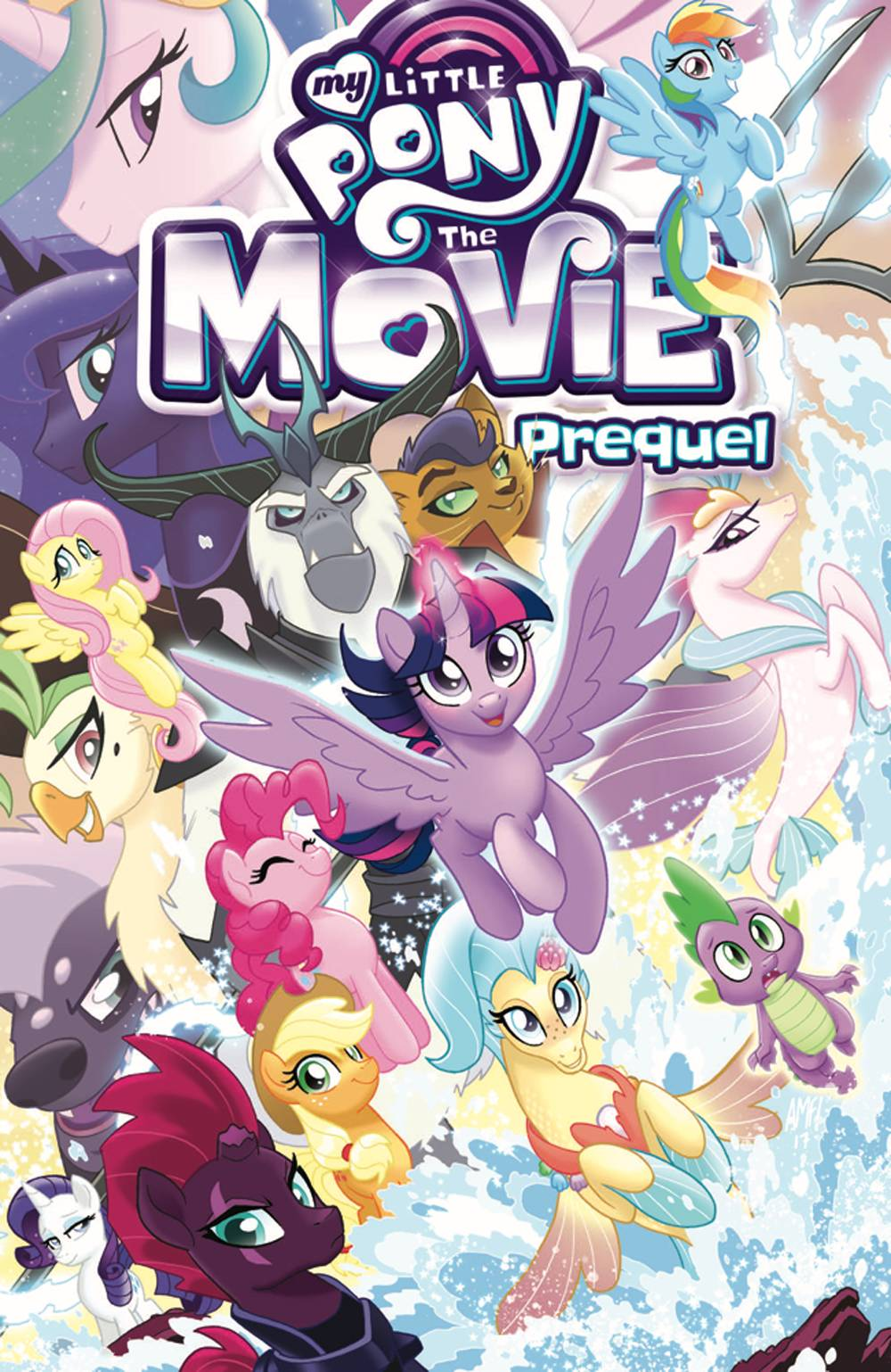 MY LITTLE PONY MOVIE PREQUEL TP