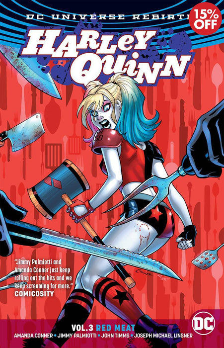 Harley Quinn Vol 03 Red Meat