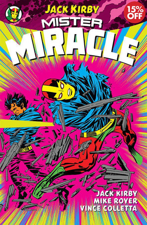 MISTER MIRACLE BY JACK KIRBY TP