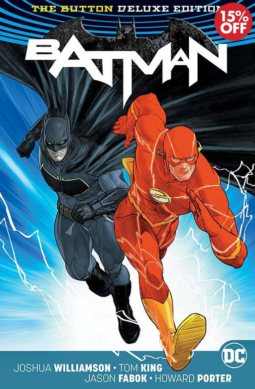 BATMAN FLASH THE BUTTON DELUXE ED HC INTL ED (REBIRTH)