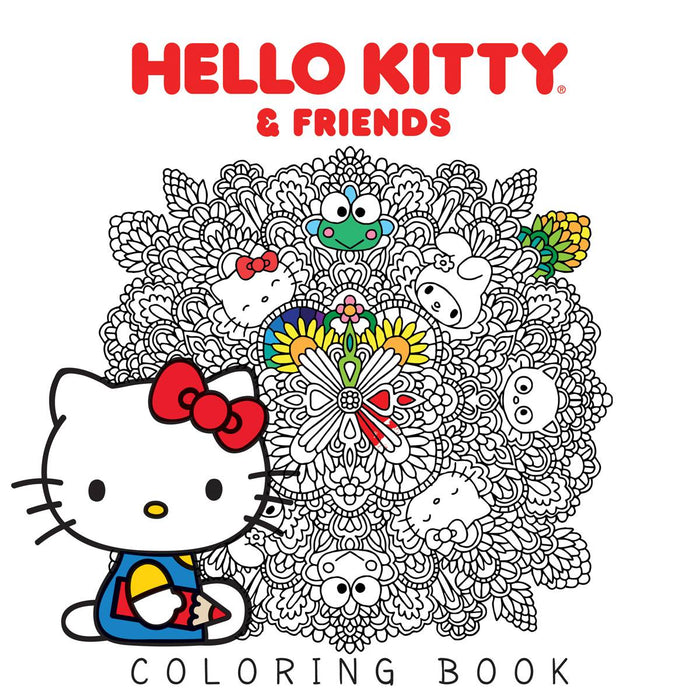 HELLO KITTY & FRIENDS COLORING BOOK SC