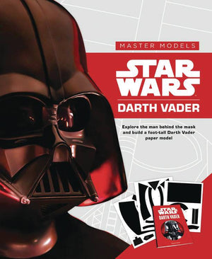 STAR WARS DARTH VADER BOOK WITH PAPER MODEL KIT