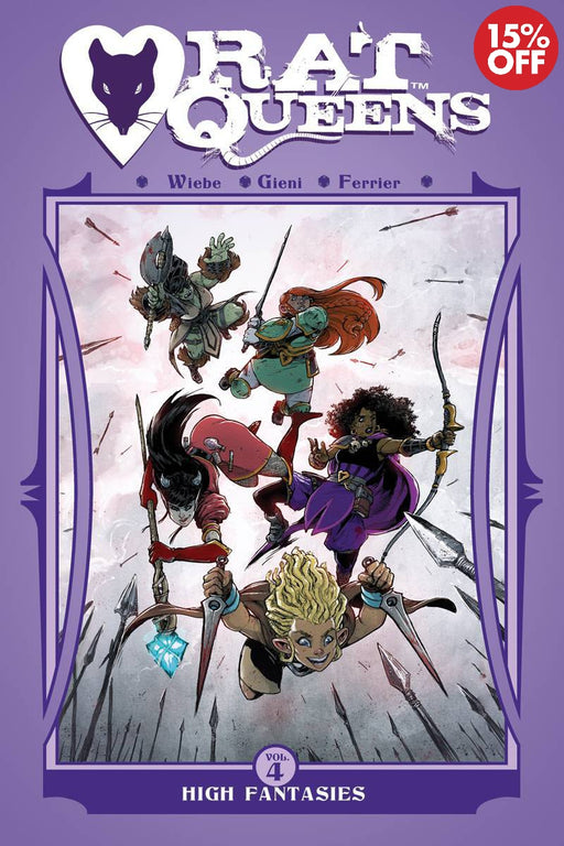 Rat Queens Vol 04: High Fantasies
