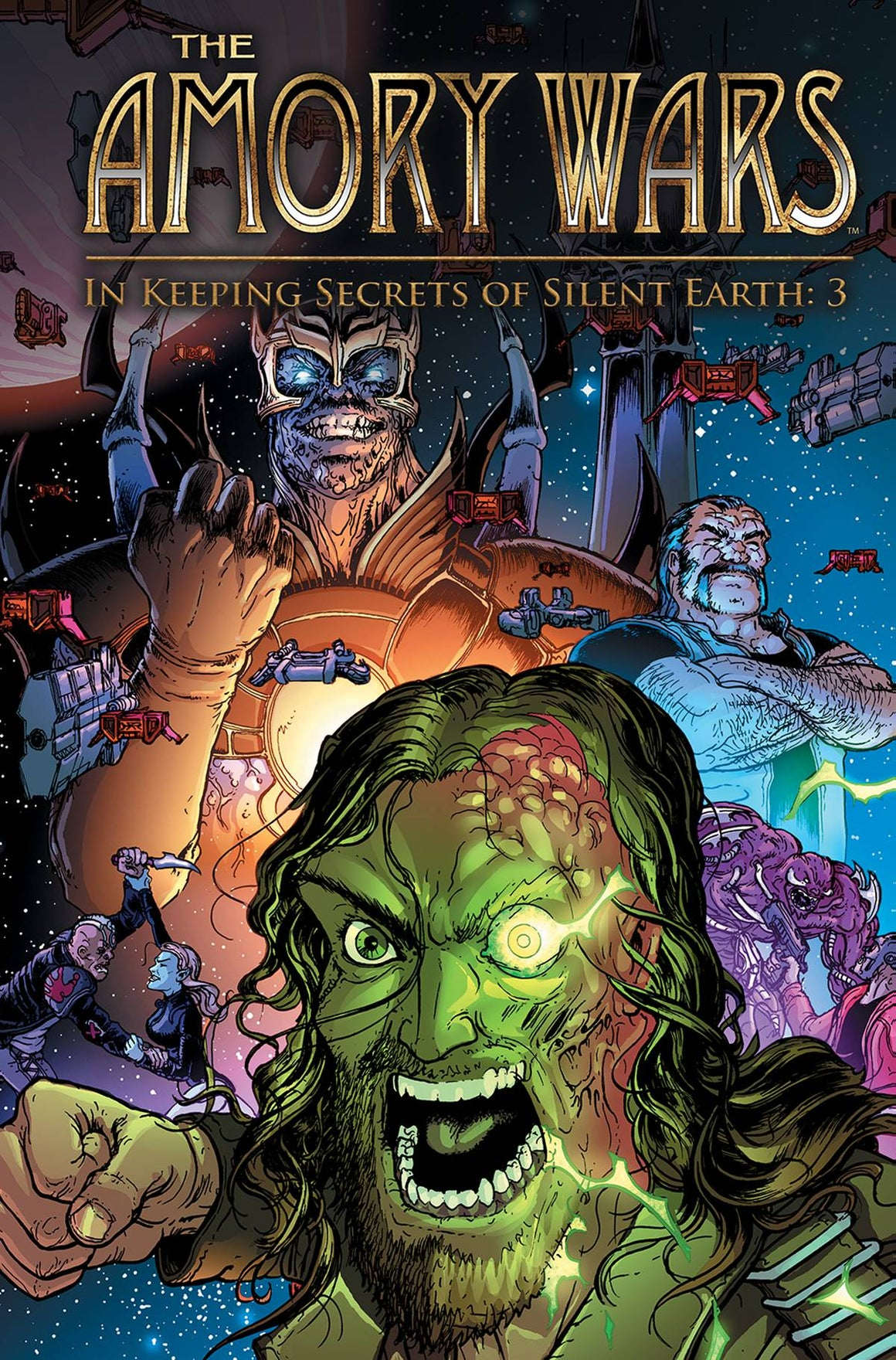 AMORY WARS HC KEEPING SECRETS OF SILENT EARTH 3