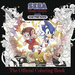 SEGA OFFICIAL COLORING BOOK SC