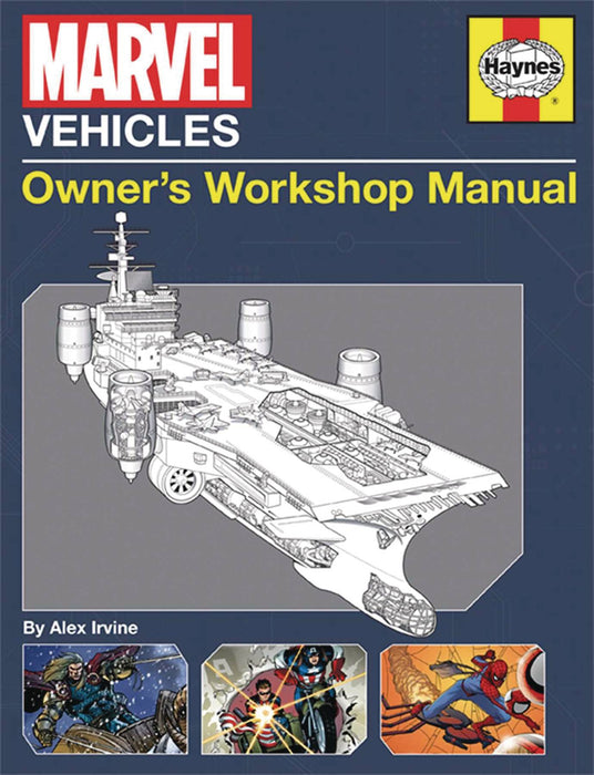 MARVEL VEHICLES OWNERS WORKSHOP MANUAL SC