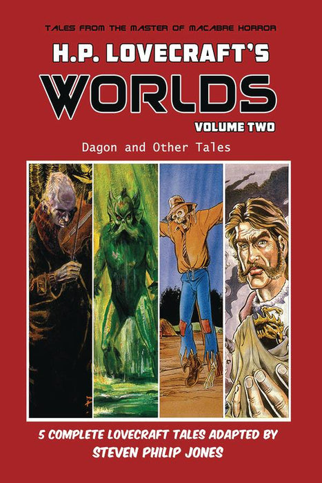 H.P. Lovecraft Worlds Vol 02 Dagon And Other