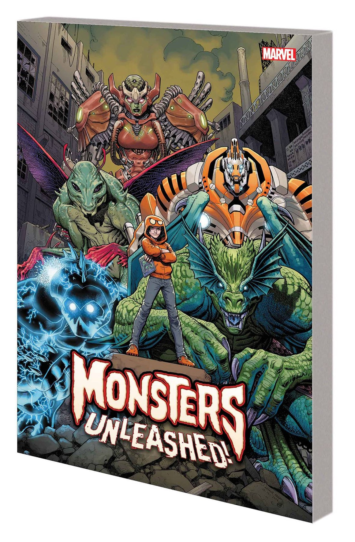 Monsters Unleashed Vol 1 Monster Mash