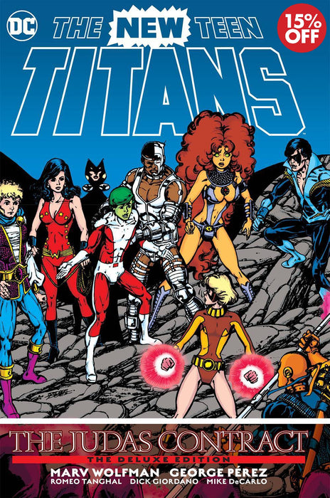 New Teen Titans The Judas Contract DLX Edition