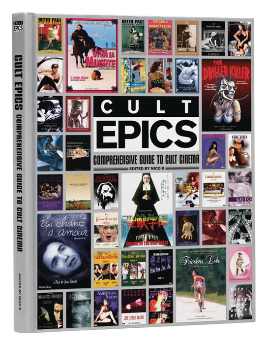 CULT EPICS COMPREHENSIVE GUIDE TO CULT CINEMA HC