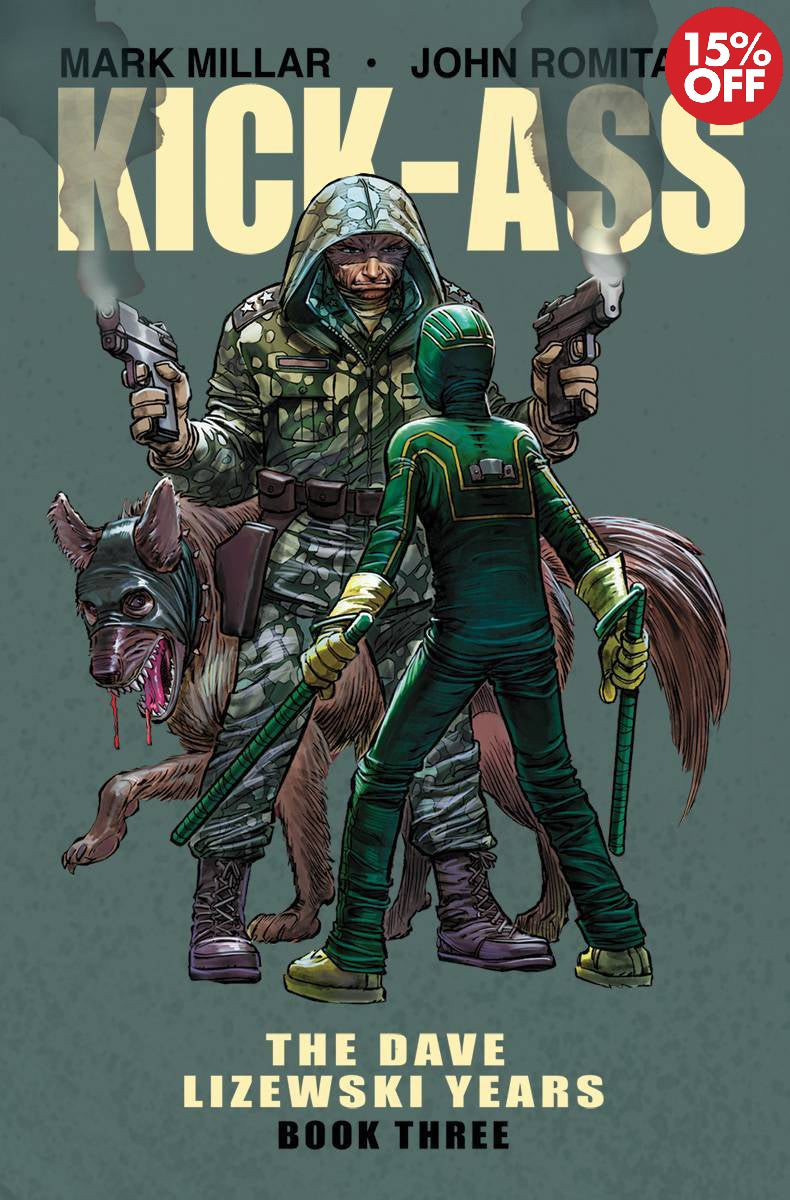 KICK-ASS DAVE LIZEWSKI YEARS TP VOL 03