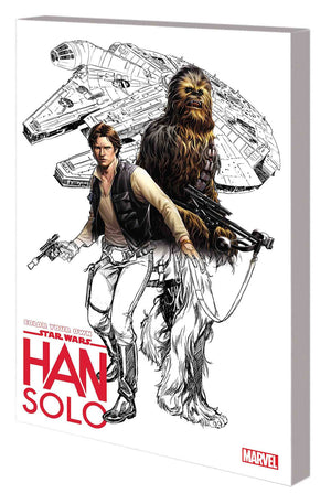 COLOR YOUR OWN STAR WARS HAN SOLO