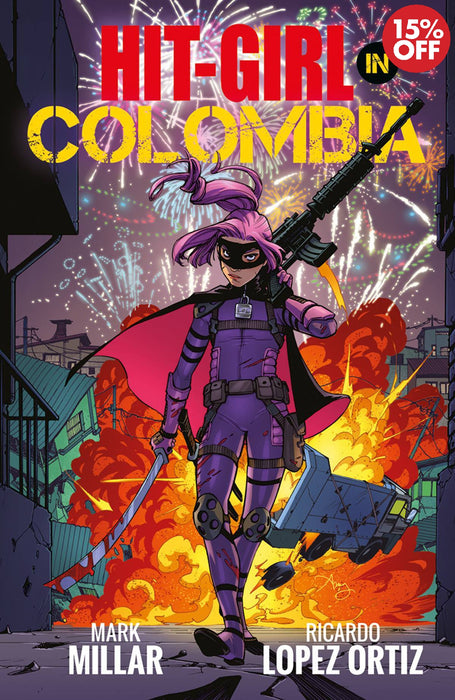 Hit-Girl Vol 01 Colombia
