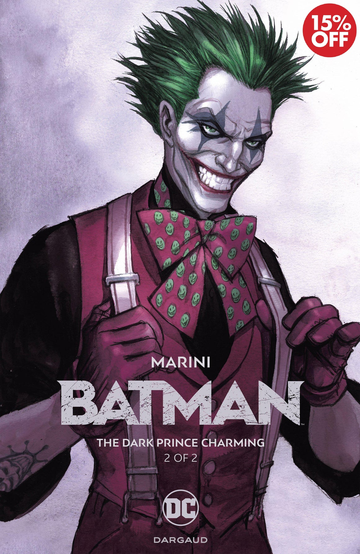 BATMAN THE DARK PRINCE CHARMING HC BOOK 02