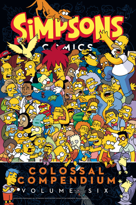 SIMPSONS COMICS COLOSSAL COMPENDIUM TP VOL 06