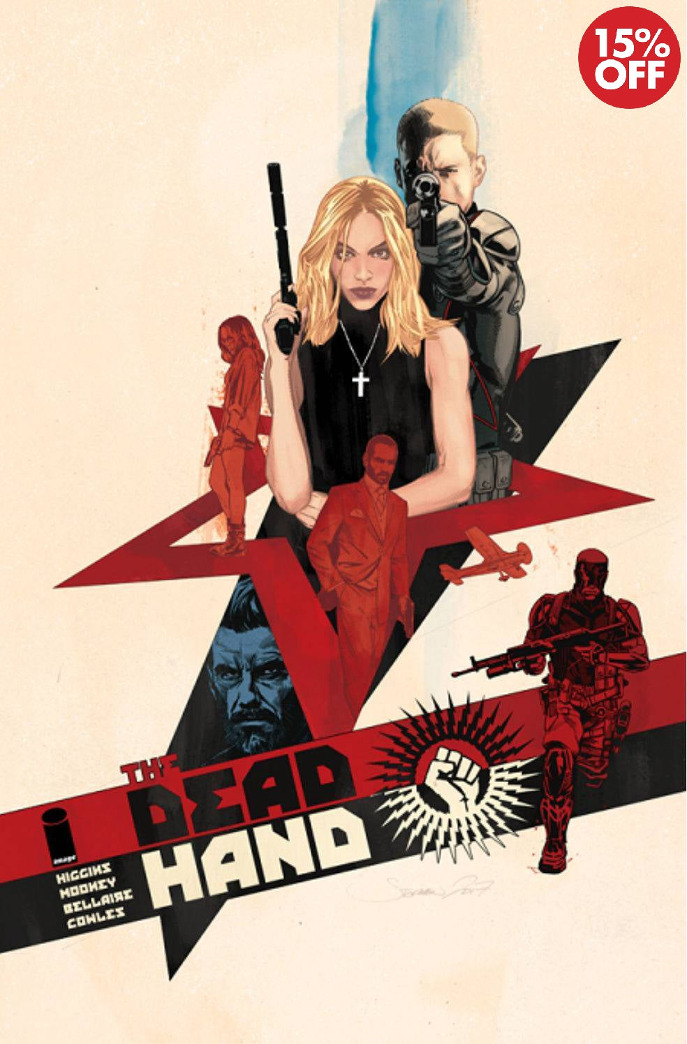 DEAD HAND TP VOL 01 COLD WAR RELICS  9781534308398