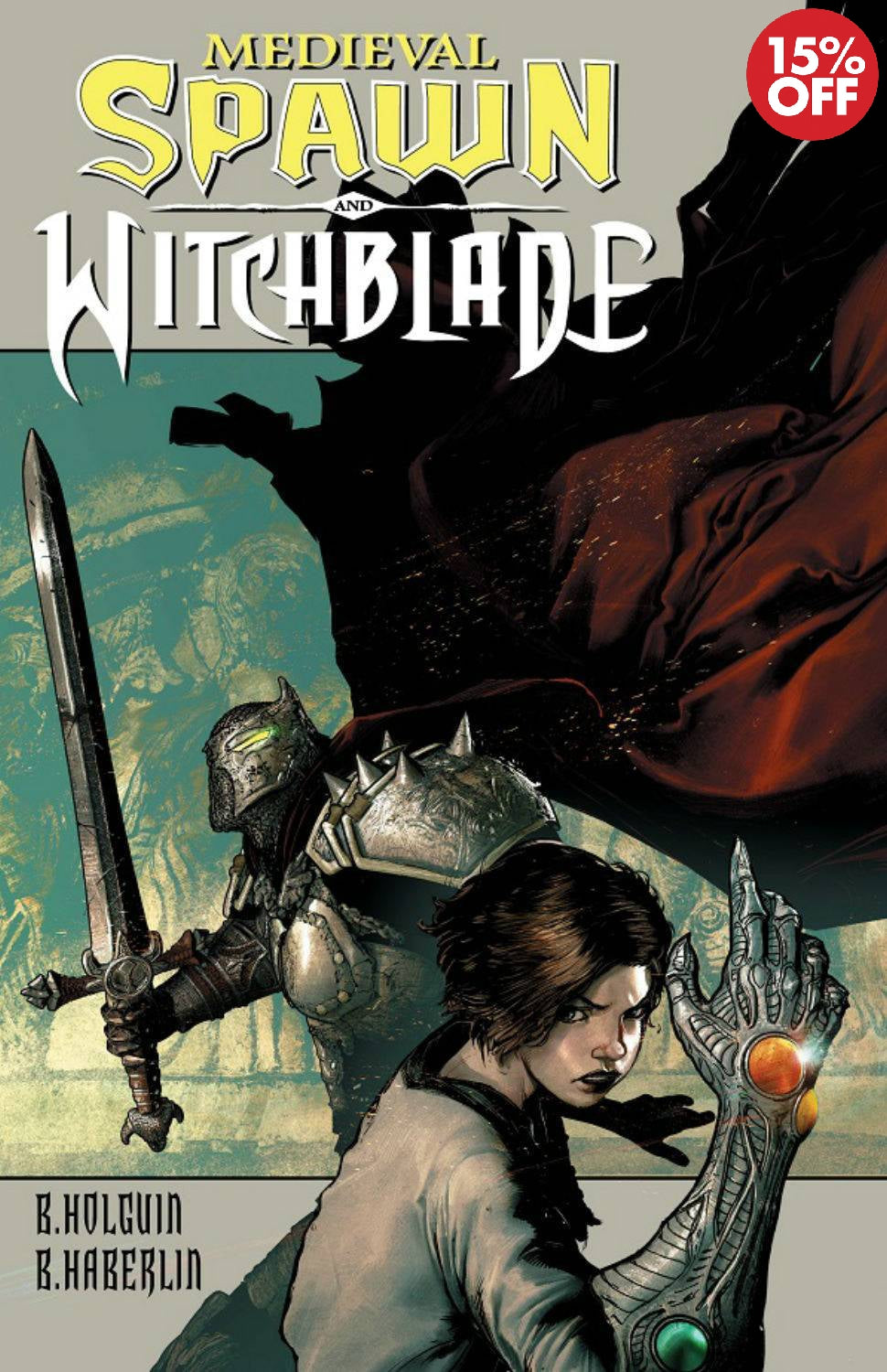 Medieval Spawn Witchblade Vol 01