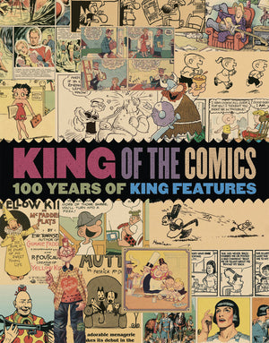 KING OF COMICS SC 100 YEARS KING FEATURES SYNDICATE