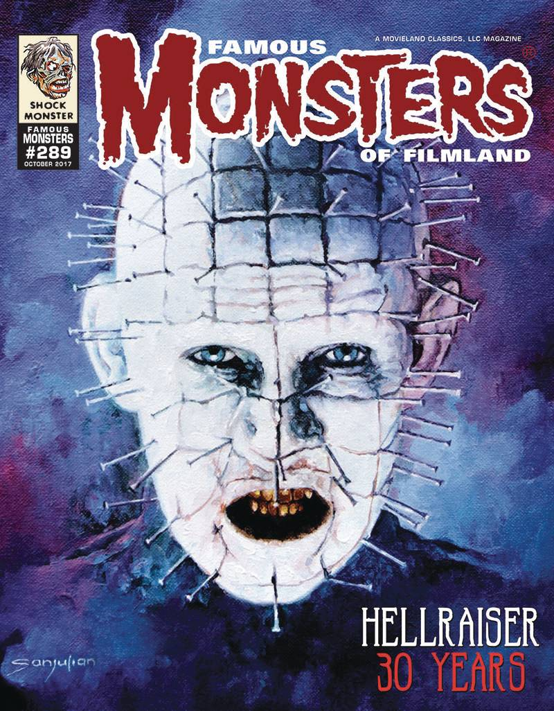 FAMOUS MONSTERS OF FILMLAND #289 PINHEAD CVR