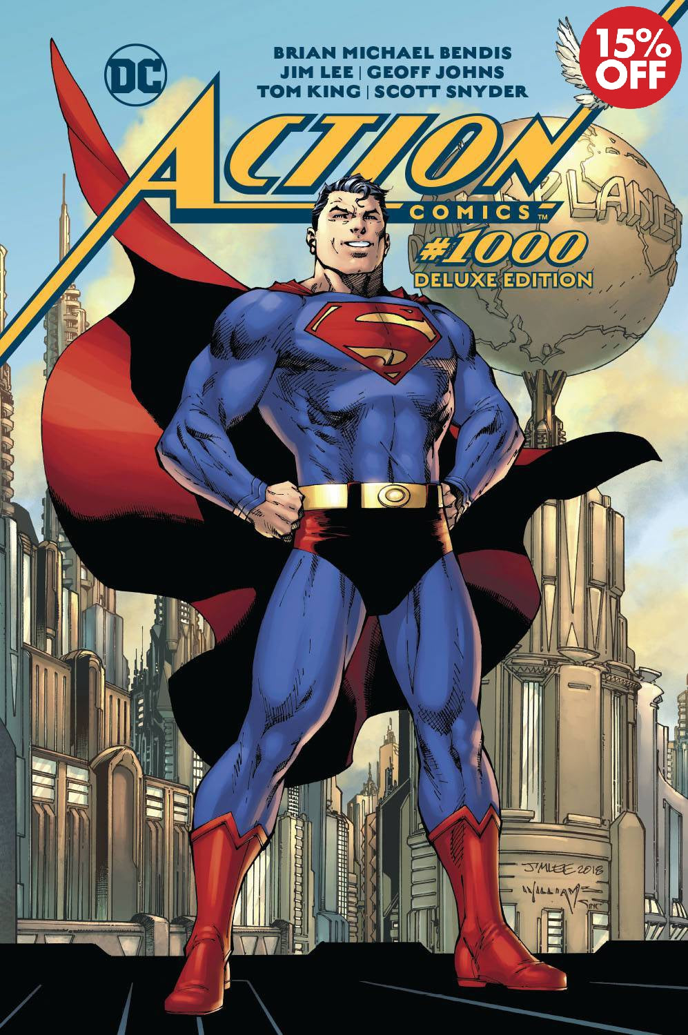 ACTION COMICS #1000 THE DELUXE EDITION HC  9781401285975