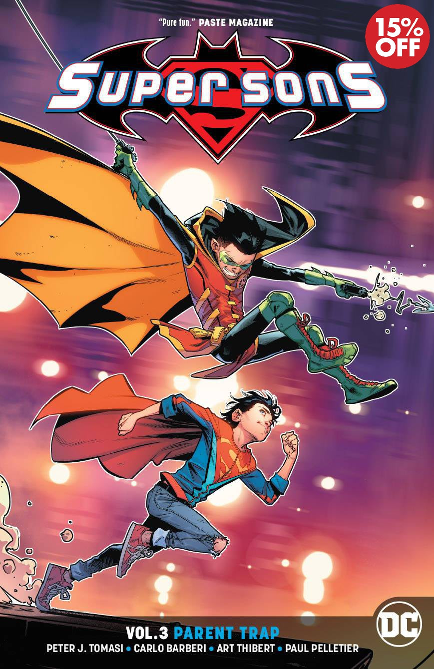 SUPER SONS TP VOL 03 PARENT TRAP 9781401284466