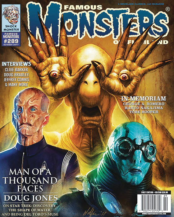 FAMOUS MONSTERS OF FILMLAND #289