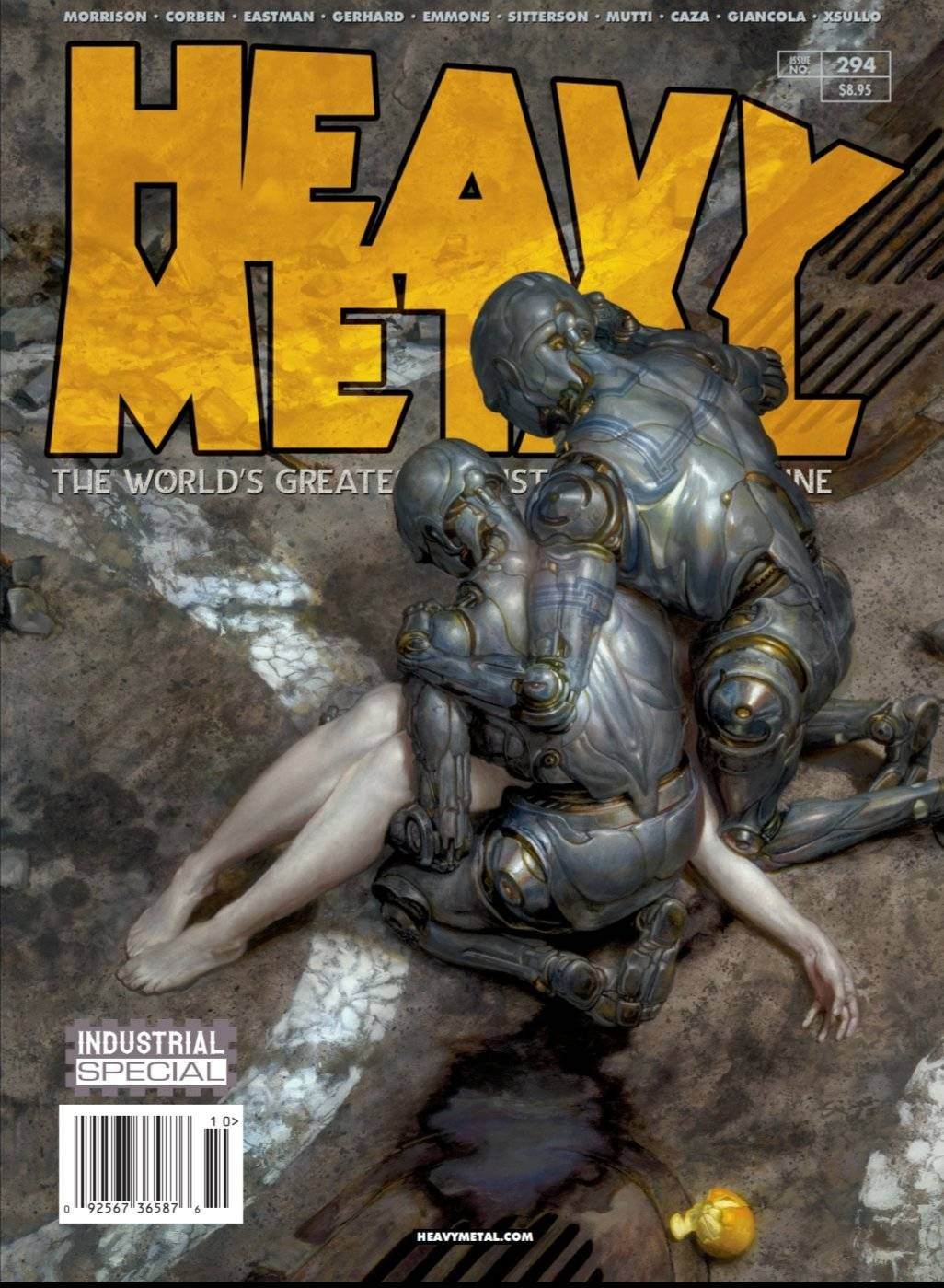 HEAVY METAL #293