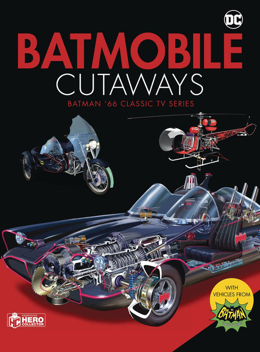 BATMOBILE CUTAWAYS CLASSIC BATMAN 66 TV SERIES