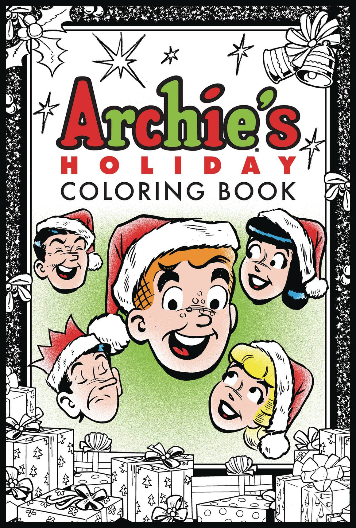 ARCHIES HOLIDAY COLORING BOOK  9781682558713