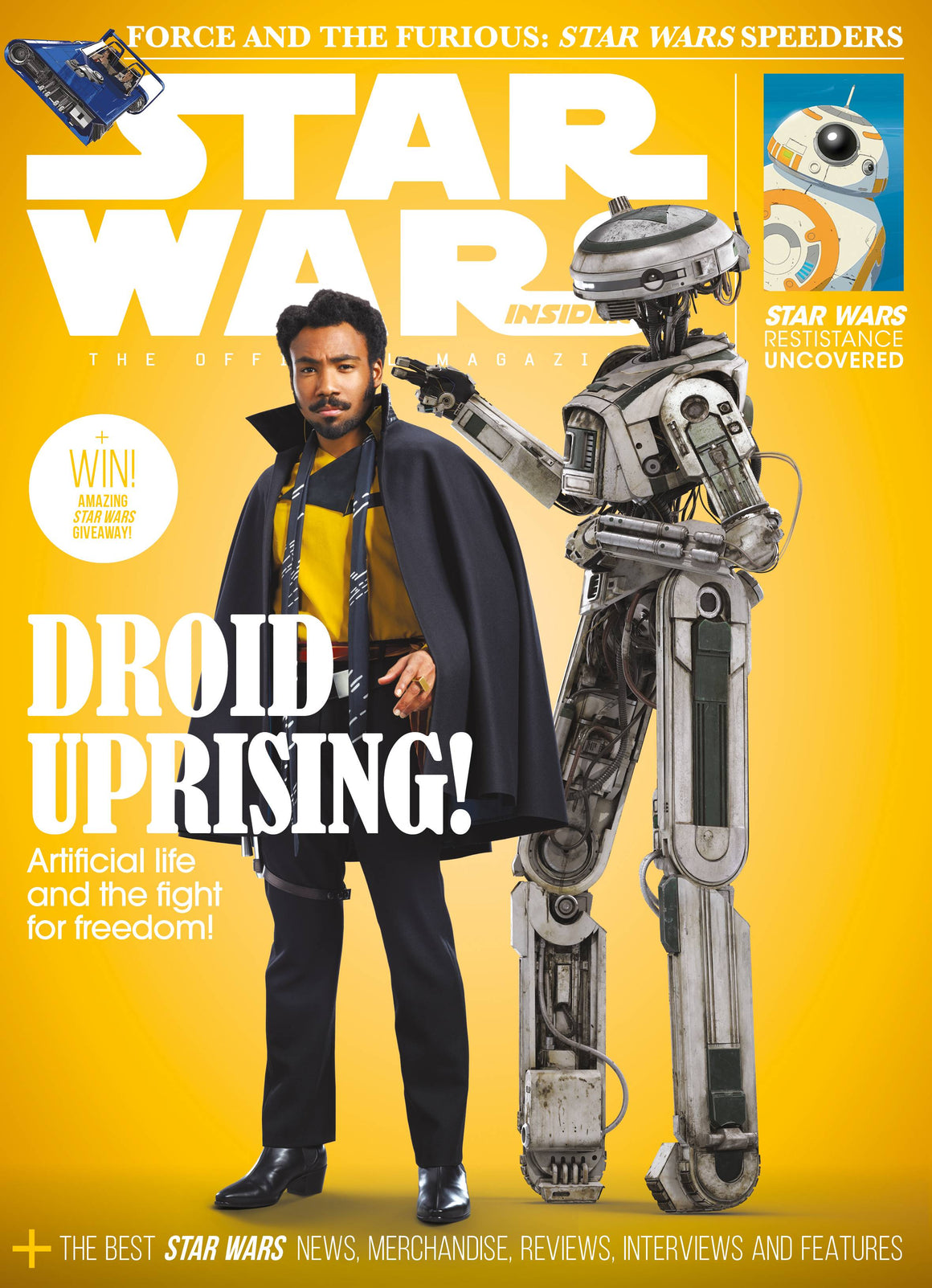 STAR WARS INSIDER #184 NEWSSTAND ED  074808018055