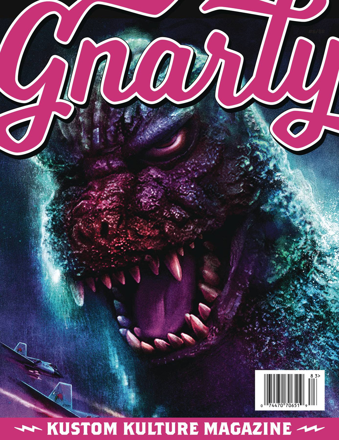 GNARLY MAGAZINE #6  074470706519