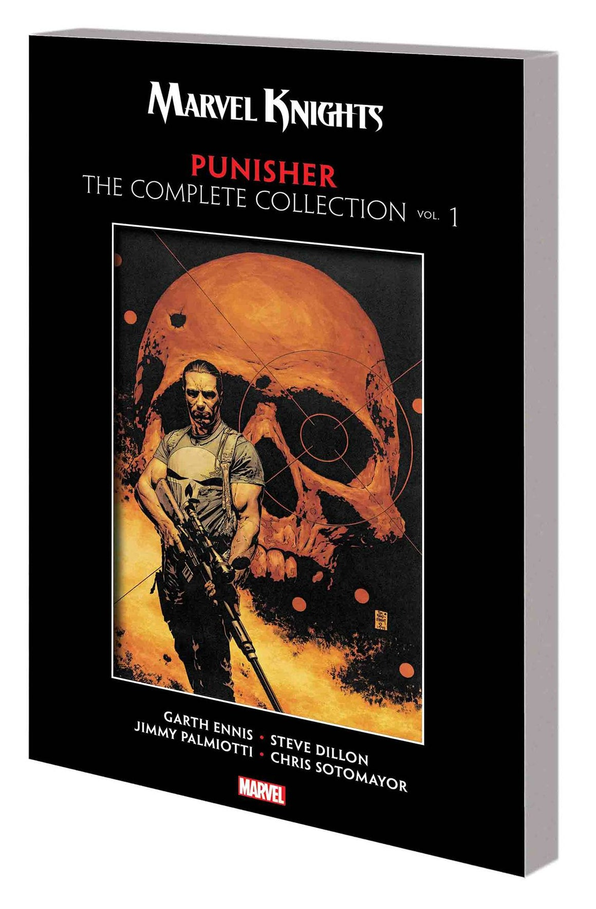 MARVEL KNIGHTS PUNISHER BY ENNIS COMPLETE COLLECTION TP