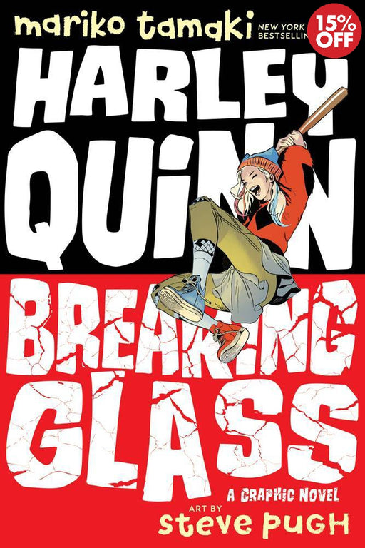 Harley Quinn Breaking Glass DC Ink