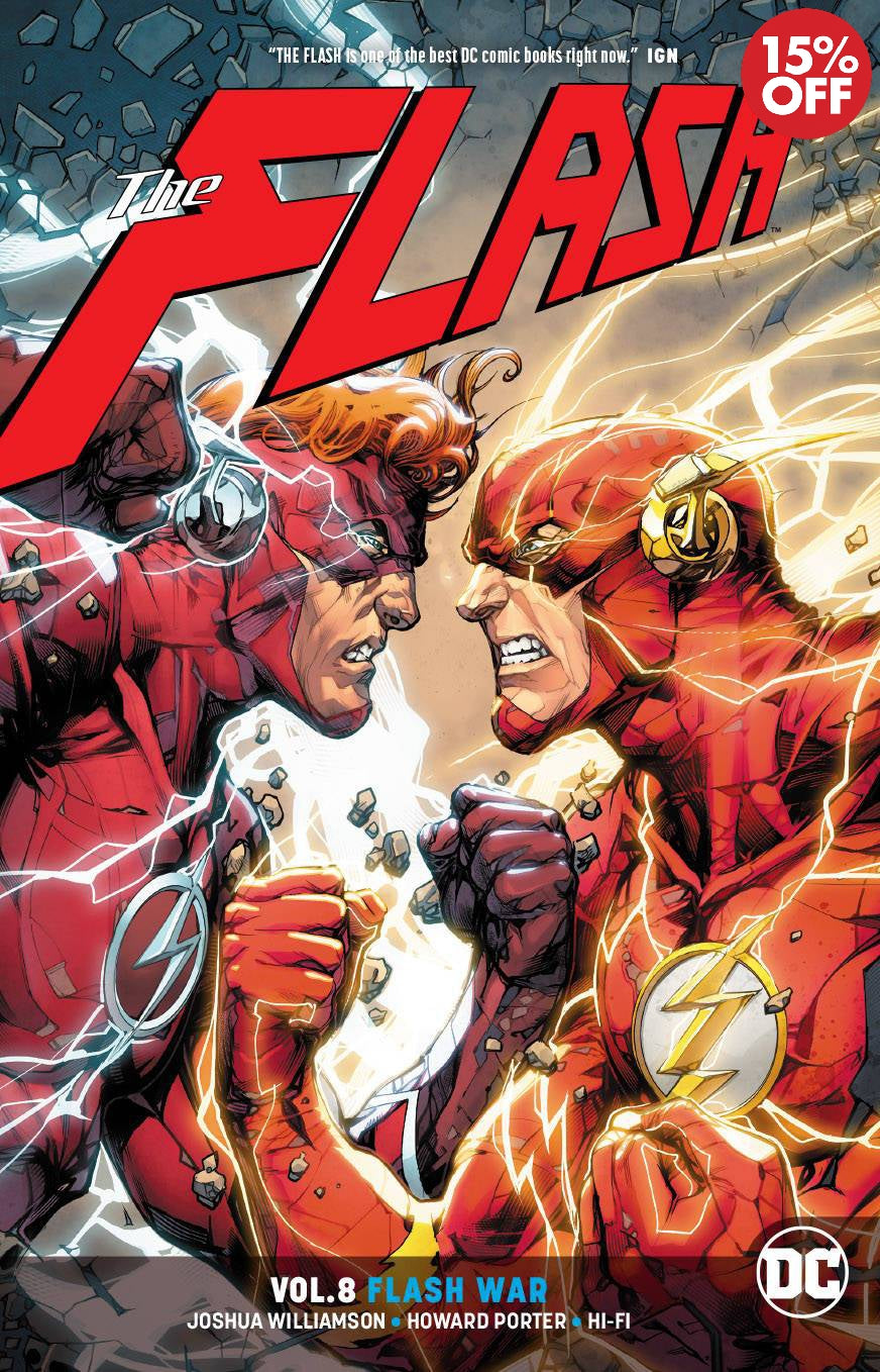 FLASH TP VOL 08 FLASH WAR