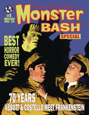 MONSTER BASH MAGAZINE SPECIAL #4