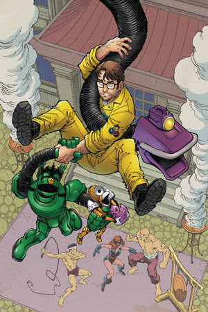 MYSTERY SCIENCE THEATER 3000 #4 COVER A NAUCK