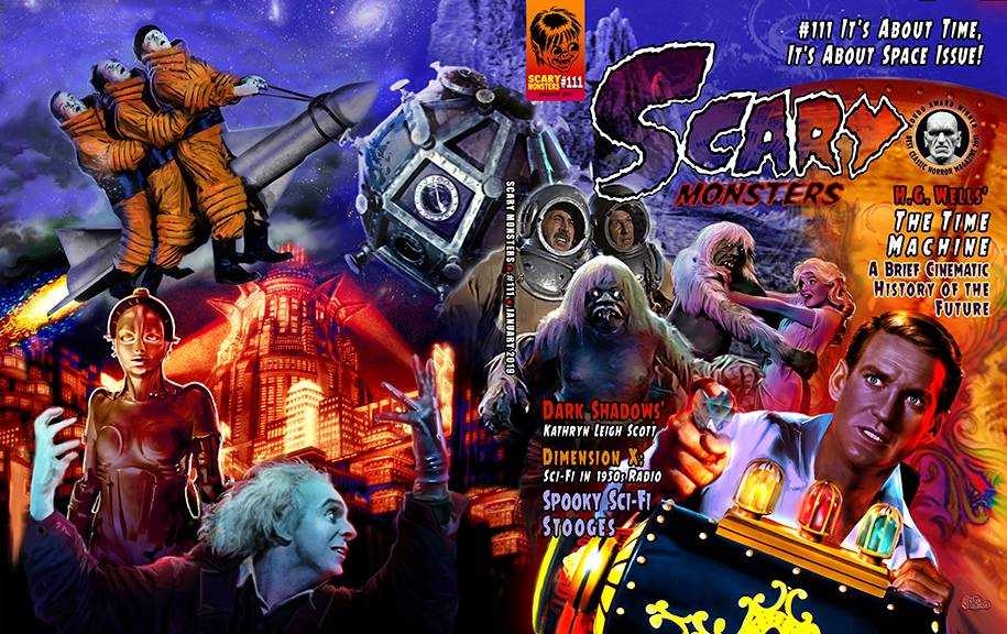 SCARY MONSTERS MAGAZINE #111