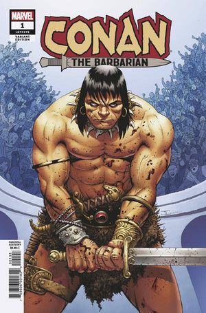CONAN THE BARBARIAN #1 CASSADAY VARIANT