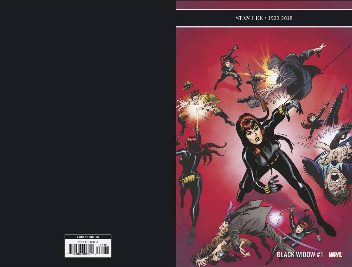 BLACK WIDOW #1 (1 IN 100) BUSCEMA REMASTERED VARIANT