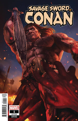 SAVAGE SWORD OF CONAN #1 RAHZZAH VARIANT