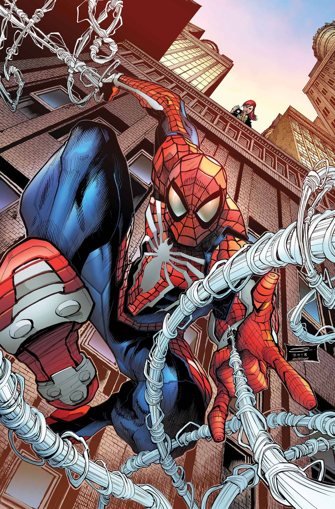 SPIDER-MAN CITY AT WAR #1 (OF 6) SANDOVAL VARIANT