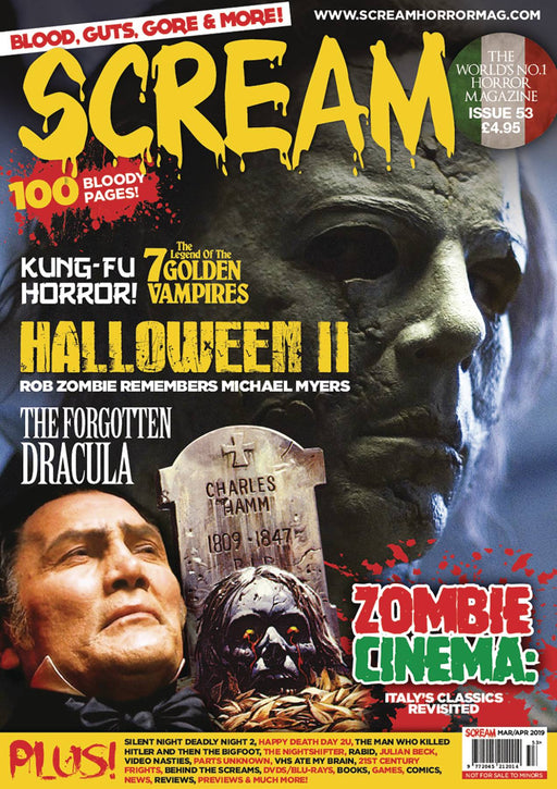 Scream Magazine #54