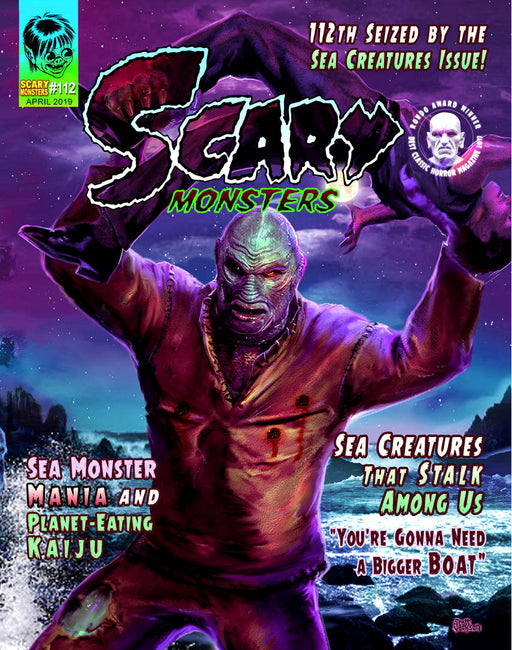 Scary Monster Magazine #112