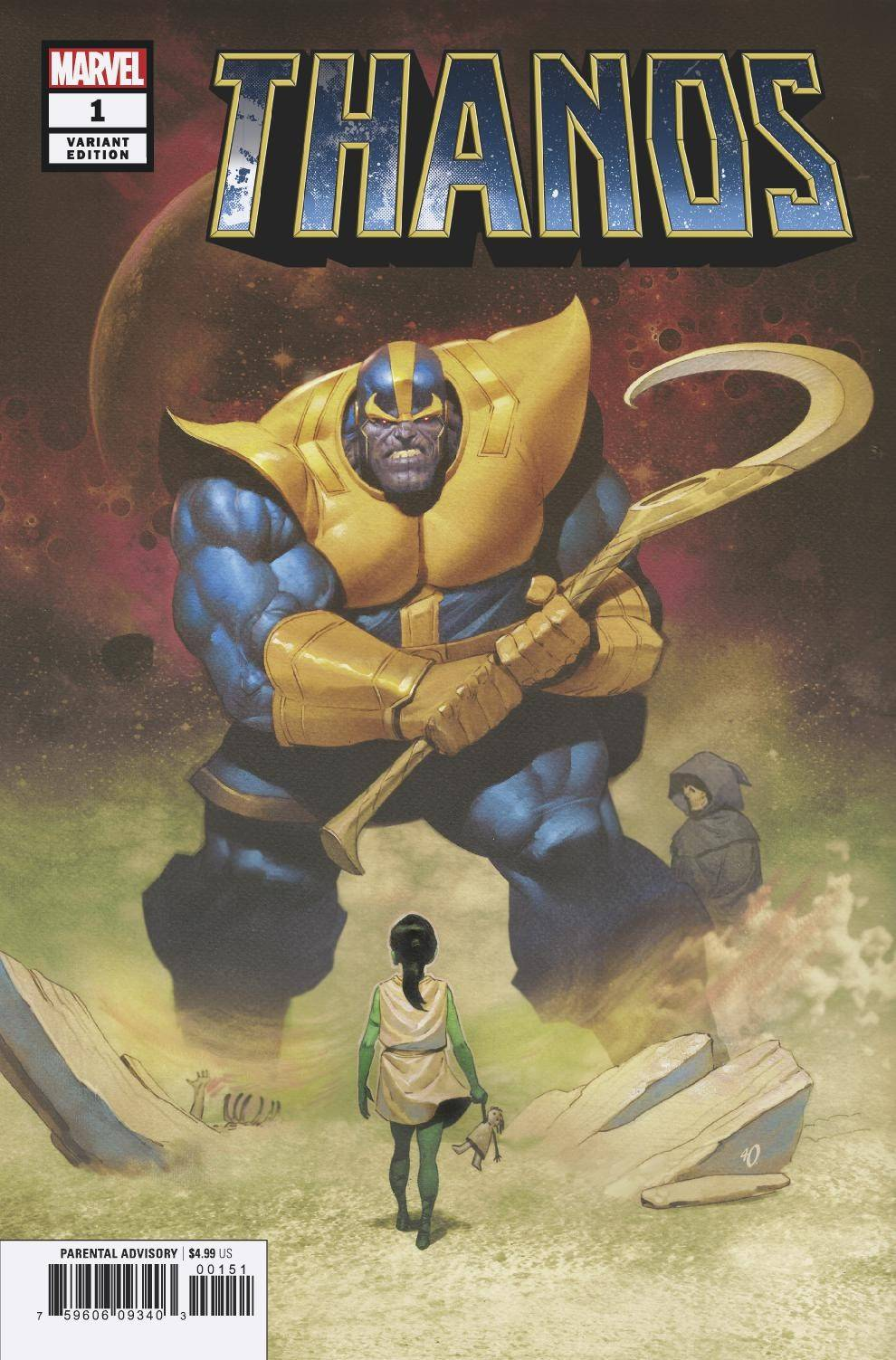 THANOS #1 (OF 6) OLIVETTI VARIANT