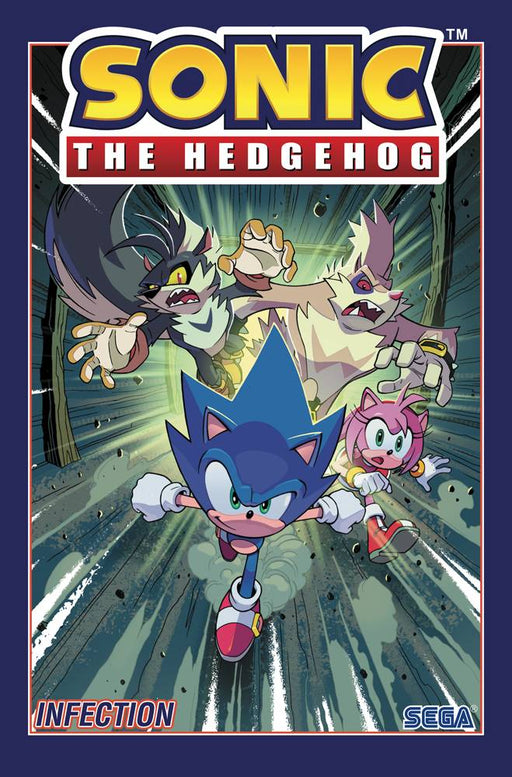 Sonic The Hedgehog Vol 04 Infection