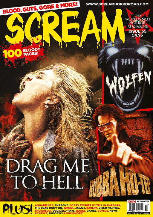 SCREAM MAGAZINE #55