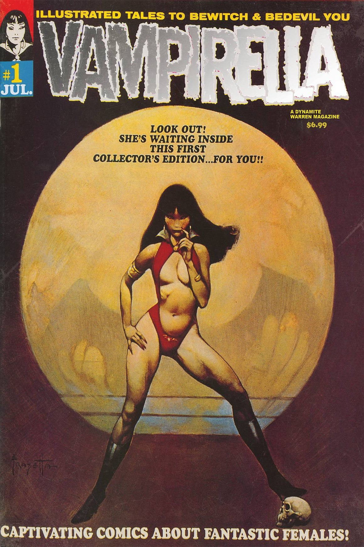Vampirella #1 1969 Replica Edition