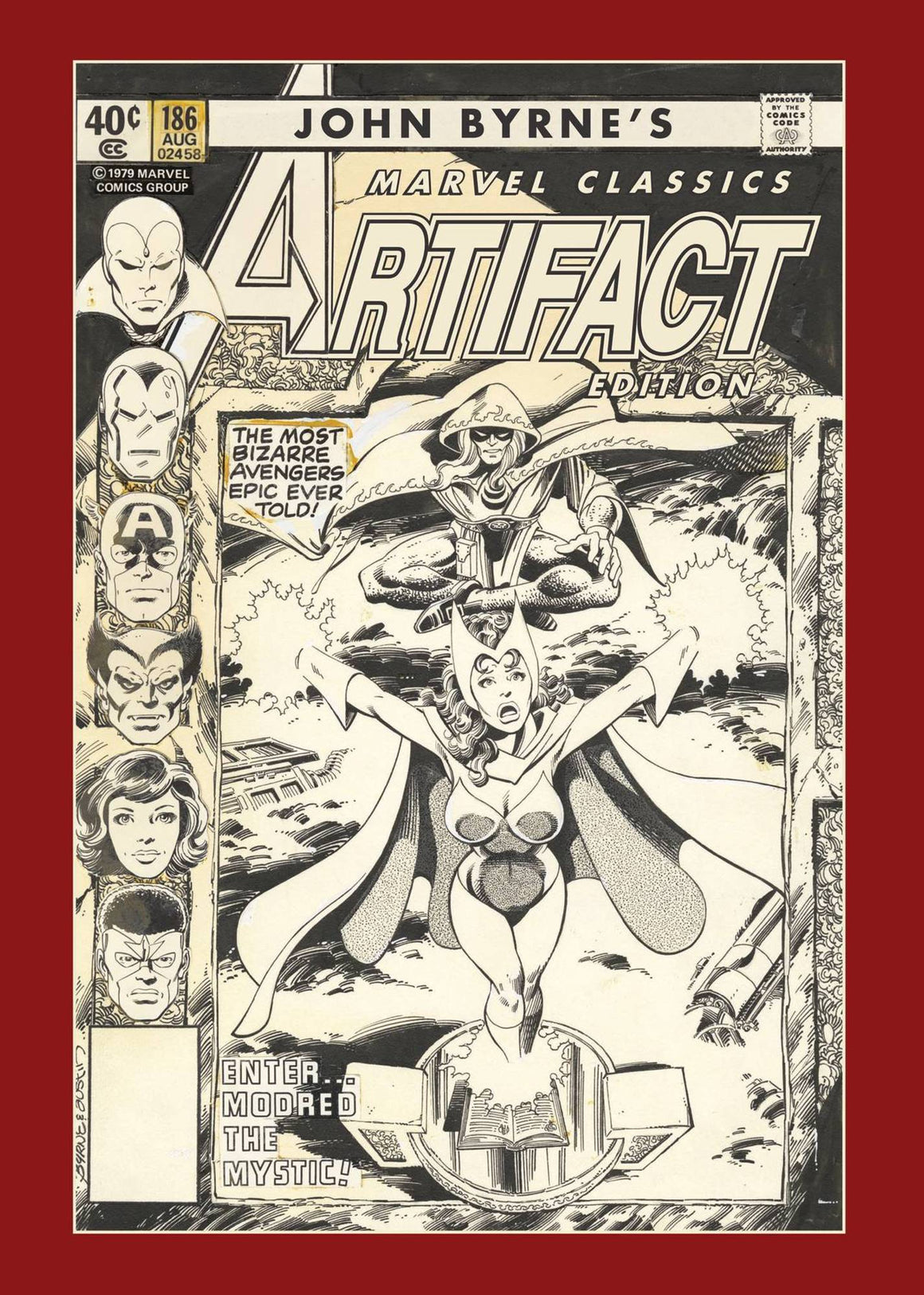 John Byrnes Marvel Classic Artifact Edition