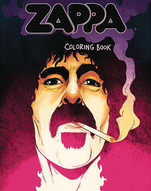 Frank Zappa Coloring Book