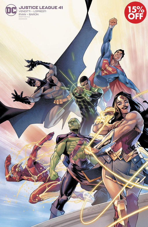 Justice League #41 Campbell Variant